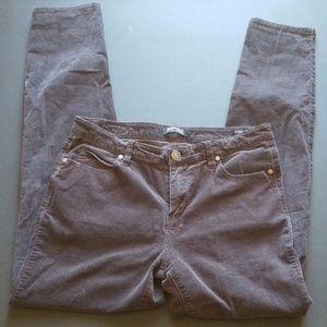 Buffalo Charcoal Grey Corduroy Jean's sz 8